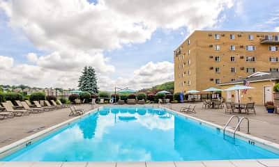 Pool, Nob Hill Apartments, 0