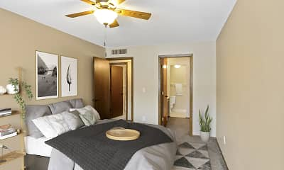 Bedroom, Willoway Apartments, 0