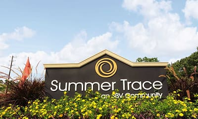 Community Signage, Summer Trace Apartments, 2