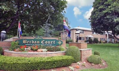 Community Signage, Berdan Court, 0