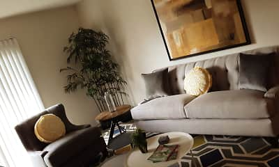 Living Room, CityVue @ 5101 Apartments, 0