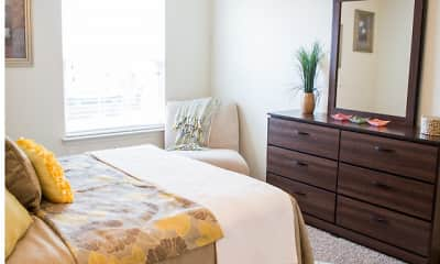 Bedroom, The Pointe at North Penn, 2