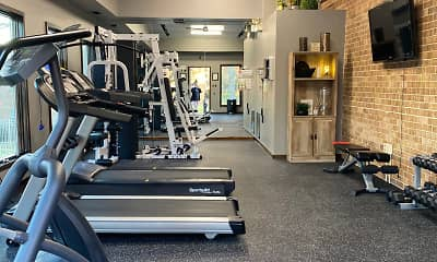 Fitness Weight Room, Hollidaysburg Manor, 1