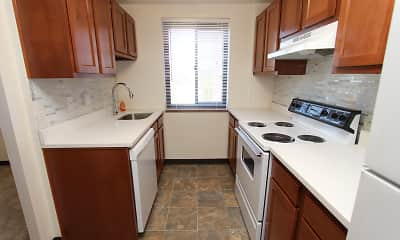 Kitchen, Dormont Apartments, 1
