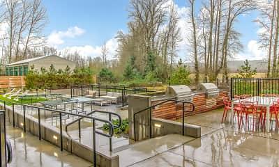 Courtyard, Bell Marymoor Park, 1