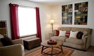 Living Room, Parkview Villas, 1