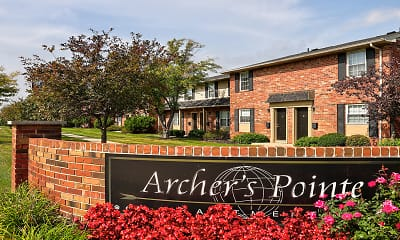 Community Signage, Archer's Pointe Apartments of Fort Wayne, 0