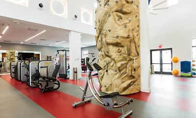 Fitness Weight Room, The Harbor, 1