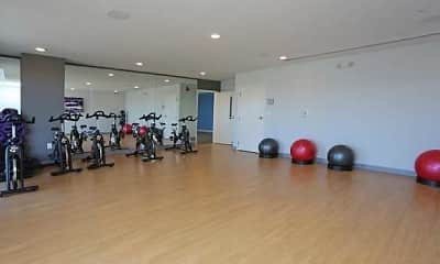 Fitness Weight Room, Flats at Spring Creek, 2