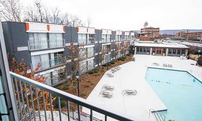 Pool, Passenger Flats, 2