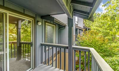 Patio / Deck, Miramonte Apartments, 2