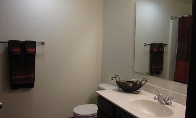 Bathroom, Riverview Place Condos, 2