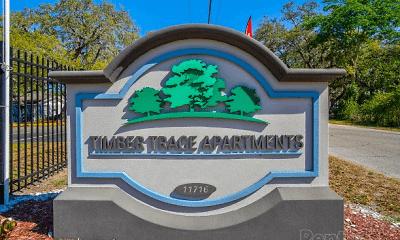 Community Signage, Timber Trace, 2