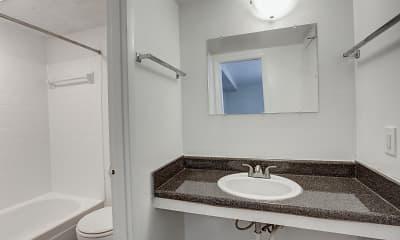 Bathroom, Pinewood Townhomes, 2