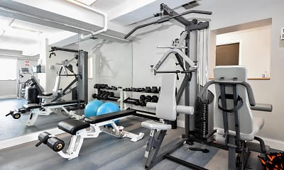 Fitness Weight Room, Barclay on Beacon, 2