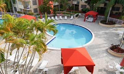 Pool, Colony at Dadeland, 2