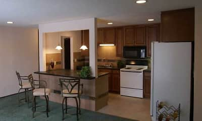 Kitchen, Pleasant Apartments, 0