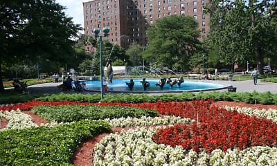 Courtyard, Parkchester Apartments, 2