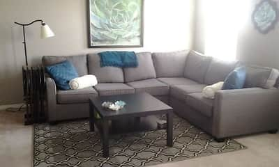 Living Room, Stonehenge Apartments, 1