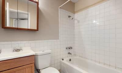 Bathroom, Redstone Commons, 2
