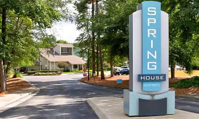 Community Signage, Springhouse, 2