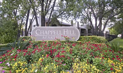 Community Signage, Chappell Hill Apartments, 2