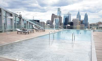 Pool, evo at Cira Centre South, 0