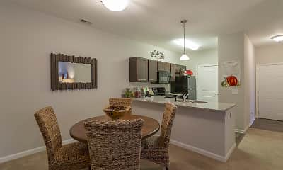 Dining Room, Steeplechase at Parkview Apartments, 1