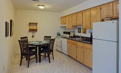 Kitchen, Kingswick Apartments, 2