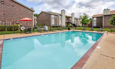 Pool, Oakbrook Apartments, 0