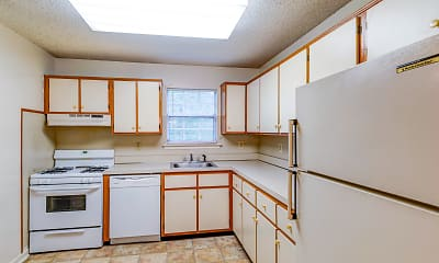 Kitchen, Briar Park Apartments, 0