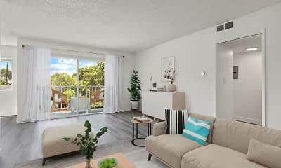 Living Room, Mila Sherman Oaks, 0