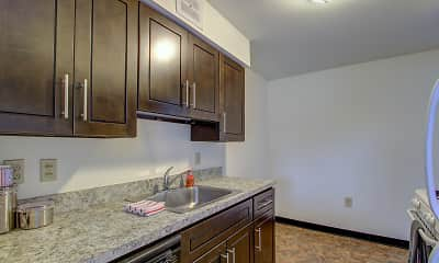 Kitchen, Portage Towers, 1
