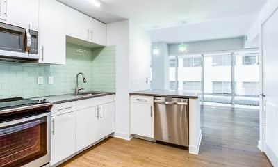 Kitchen, 455 Eye Street, 1