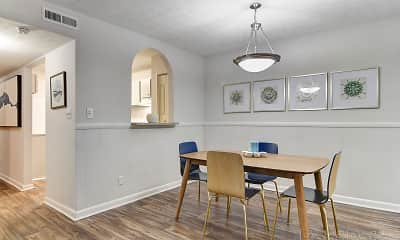 Dining Room, Lakeview Apartment Homes, 0