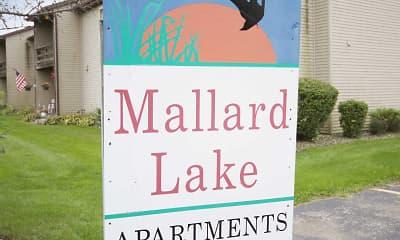 Community Signage, Mallard Lake Apartments, 2