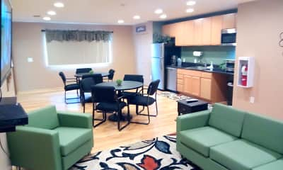Clubhouse, Sand Creek Apartments, 1
