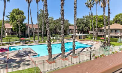 Pool, Valley West Apartments, 1