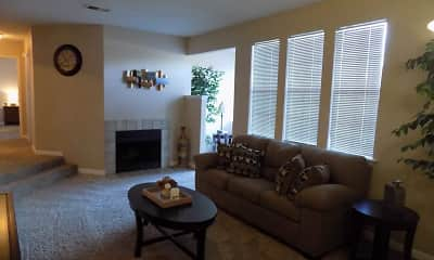 Living Room, The Landings at Edgewater, 0