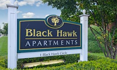 Community Signage, Black Hawk, 2