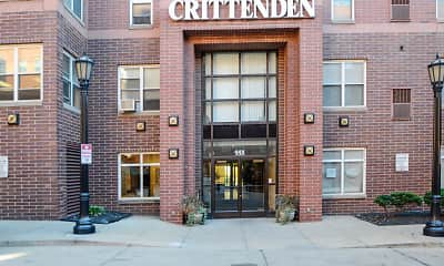 Building, Crittenden Court Apartments, 1