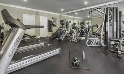 Fitness Weight Room, Camden Fairview, 2