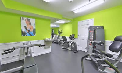 Fitness Weight Room, Briarwood Place Apartment Homes, 1