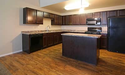 Kitchen, Mallard Heights Apartments, 0