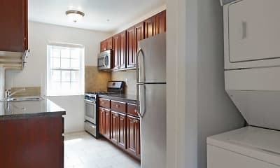 Kitchen, Hampshire Terrace Apartments, 1
