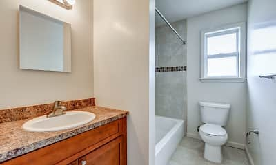 Bathroom, Redstone Gardens/Lakeview Gardens, 2