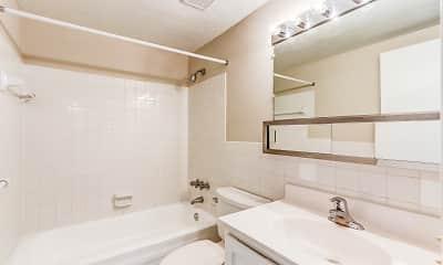Bathroom, Concord Apartments, 2