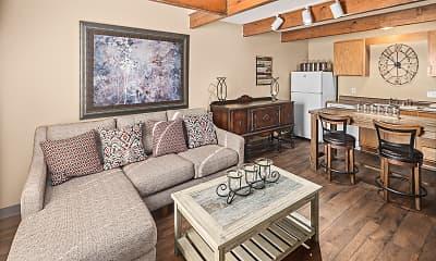 Living Room, Fairway Meadows, 0