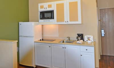 Kitchen, Furnished Studio - Anchorage - Downtown, 1