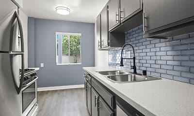 Kitchen, Sherman Oaks Gardens, 1